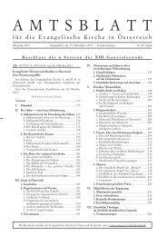 November / Dezember 2011 Sondernummer - Das Evangelische ...
