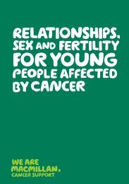 Download PDF here - Macmillan Cancer Support