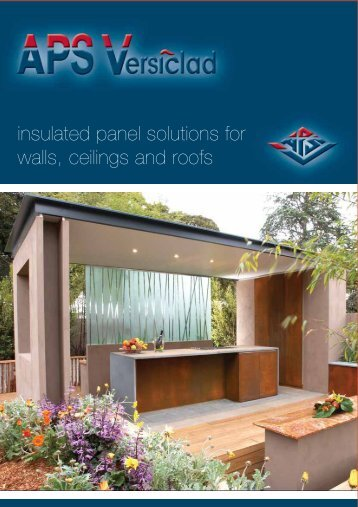 insulated panel solutions for walls, ceilings and roofs