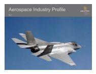 Aerospace Industry Profile - Economic Development Corporation Utah