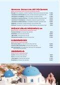 Zu unserer Speisekarte - Pension METEORA - Seite 6