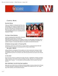 January – December (PDF) - Wisconsin Alumni Association