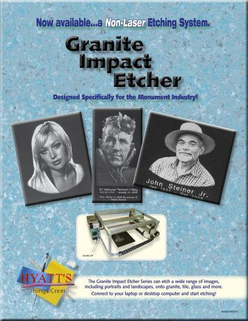 Granite Impact Etcher - Hyatt's