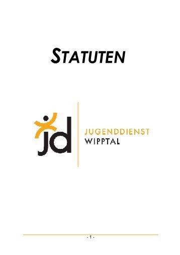 Statuten Jugenddienst Wipptal - Arbeitsgemeinschaft der ...