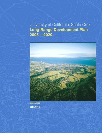 Entire Draft - Office of Planning and Budget - University of California ...