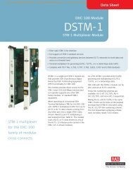 DSTM-1 - CB Networks