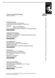 Dr. Hanns Schürff-Gasse 14, 2340 Mödling Kontakt