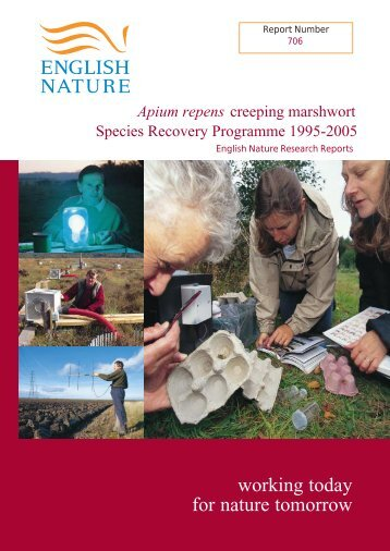 ENRR706 part 1 - Natural England Publications and Products