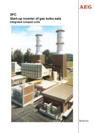 Integrated compact units - AEG Industrial Engineering