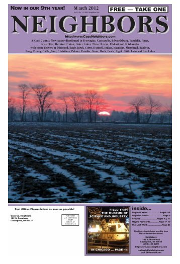 to see March 2012 edition of - Phil Vitale Publishing