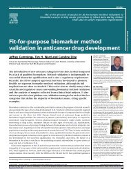 Fit-for-purpose biomarker method validation in ant... - ResearchGate