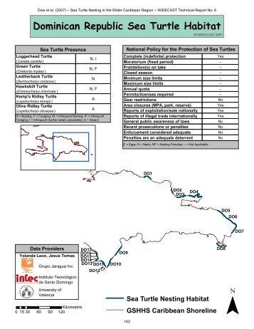 Dominican Republic Sea Turtle Habitat - WIDECAST