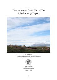 Excavations at Gásir 2001-2006 A Preliminary Report - Nabo