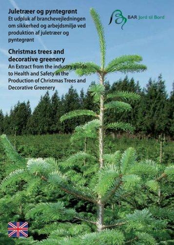 Juletræer og pyntegrønt Christmas trees and ... - BAR - jord til bord.