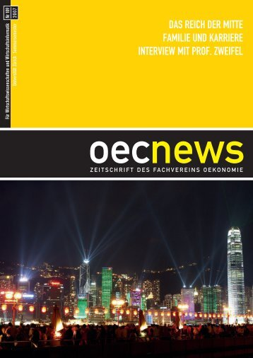 OecNews SS 07 - Hertig - ETH Zürich