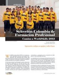Selección Colombia de Formación Profesional - Revista Metal Actual