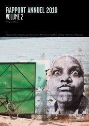 RAPPORT Annuel 2010 - Voyageurs du Monde