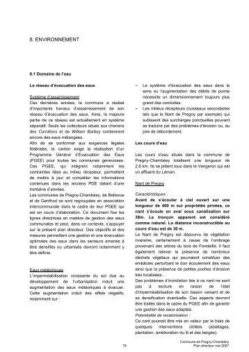8. ENVIRONNEMENT - Etat de Genève