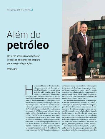 petróleo - Revista Pesquisa FAPESP