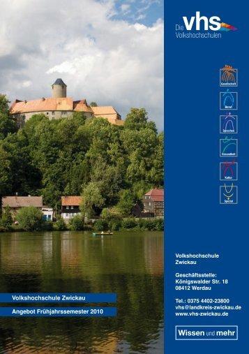 August 2006 - Volkshochschule Zwickau