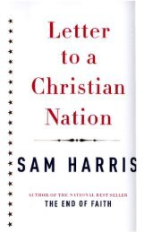 Sam Harris - Letter to a Christian Nation.pdf