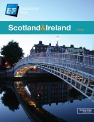 Scotland&Ireland - EF Educational Tours
