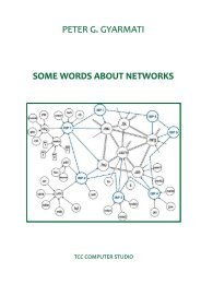 Some words about networks - MEK