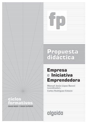 Propuesta didactica. Empresa e Iniciativa Emprendedora - Algaida