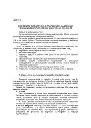 Ghid diagnostic si tratament cancer tiroidian diferentiat derivat din ...
