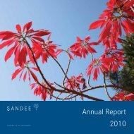 Annual Report 2010 - South Asian Network for Development and ...