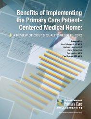 PCPCC-PCMH-EvidenceSummary2012 - Nebraska Health and ...