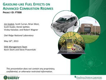 Gasoline-Like Fuel Effects on Advanced Combustion Regimes