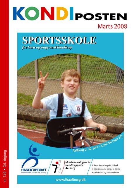 Kondiposten marts 2008 - Idrætsforeningen for handicappede i ...