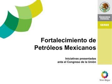 Resumen Ejecutivo de las Iniciativas presentadas ante el Congreso ...