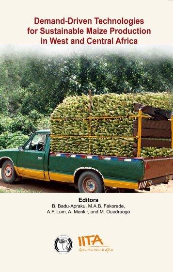 Demand-Driven Technologies for Sustainable Maize ... - IITA