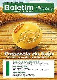 Boletim - Revista Passarela da Soja 2010 - Fundação Bahia