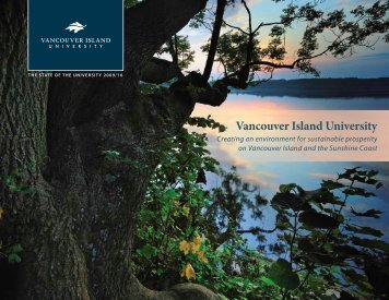 2009/10 The State of the University Report - Vancouver Island ...