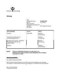 Antrag der SPD-Stadtratsfraktion zum Abschluss von ...