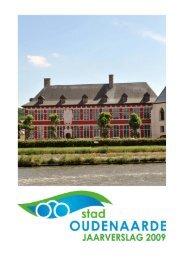 Jaarverslag 2009 - Stad Oudenaarde