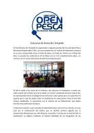 LEER MÁS - Confederación Española de Pesca Recreativa ...