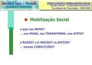Mobilização Social - SIGAM