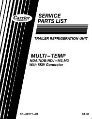 vector 6600mt multi temp advance micro - Sunbelt Transport