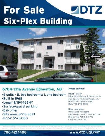 6704-131a Avenue; Six-Plex.pdf - DTZ