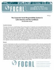 The Corporate Social Responsibility System in Latin ... - CommDev