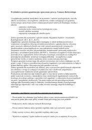 PrzykÃ…Â'adowe pytania egzaminacyjne opracowane przez p. Tomasza ...