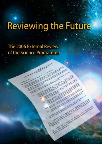 ESA's hugely successful Science Programme