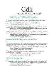 Antibodies and Mediators Of Immunity Immune-Mediated ...
