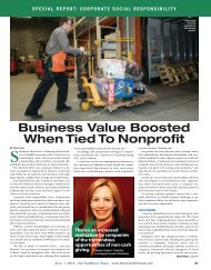 Business Value Boosted When Tied To Nonprofit - The NonProfit ...
