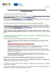 Instrukcja przygotowania i podpisania umowy finansowej - Grundtvig