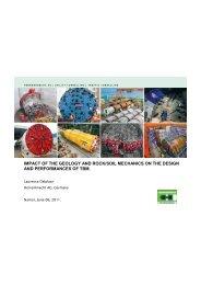 La conception et le dimensionnement des tunneliers_L ... - sbgimr